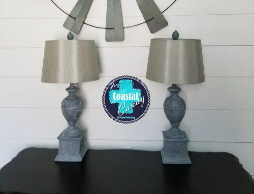 Farmhouse Style Lamp Makeover
